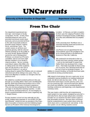2006-2007 newsletter