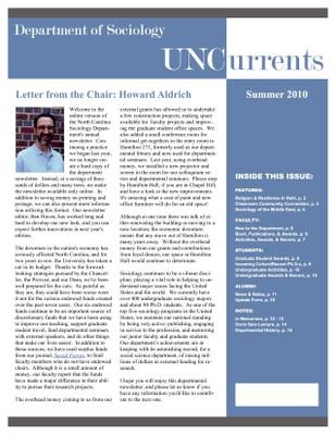 2009-2010 newsletter